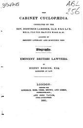 Lives of Eminent British Lawyers
