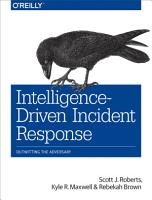 Intelligence Driven Incident Response PDF