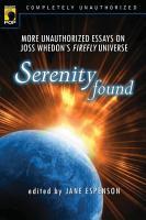 Serenity Found PDF