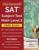 SAT Subject Test Math Level 2 Prep Book PDF