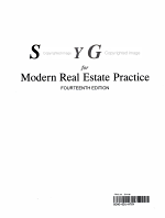 Study Guide for Modern Real Estate Practice PDF