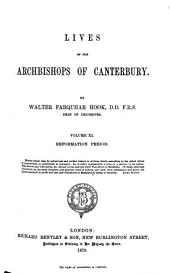 Lives of the Archbishops of Canterbury: Volume 11