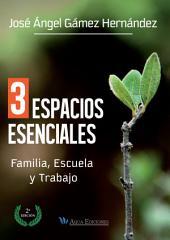 3 Espacios esenciales: Familia, trabajo y escuela