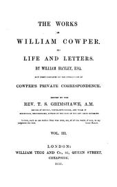 The Works of William Cowper: Volume 3