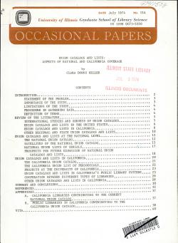 Union Catalogs and Lists PDF