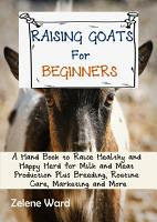 Raising Goats for Beginners PDF