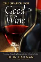 The Search for Good Wine PDF