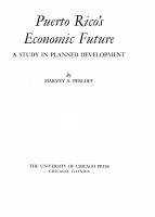 Puerto Rico s Economic Future PDF