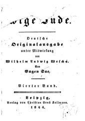 Der ewige Jude: Bände 4-5