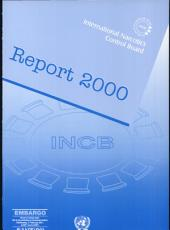 Report of the International Narcotics Control Board for 2000