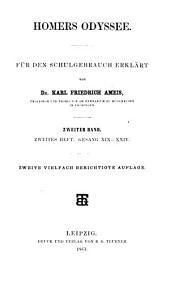 Odyssee: Gesang XIX - XXIV, Band 2,Ausgabe 2