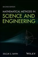 Mathematical Methods in Science and Engineering PDF