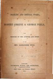 The Dramatic and Poetical Works of Robert Greene & George Peele