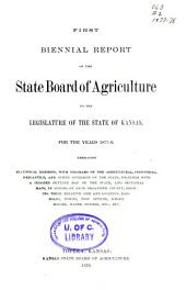 Biennial Report - Kansas State Board of Agriculture: Volume 1