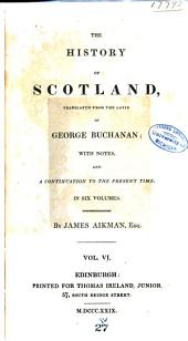 The History of Scotland: Volume 6