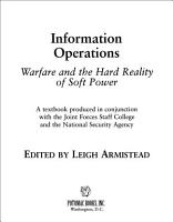 Information Operations PDF