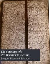 Die Sargonsstele des Berliner Museums