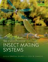 The Evolution of Insect Mating Systems PDF