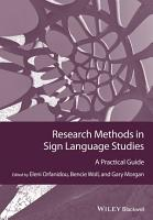 Research Methods in Sign Language Studies PDF