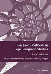 Research Methods In Sign Language Studies Book PDF