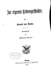 Leopold von Ranke's Sämmtliche Werke: Bände 53-54
