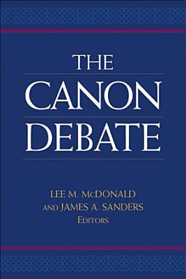 The Canon Debate PDF