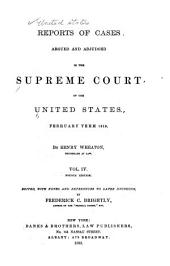 Reports of Cases Argued and Adjudged in the Supreme Court of the United States: Volume 17