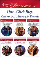 One Click Buy  October 2010 Harlequin Presents PDF