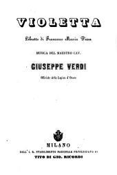 Violetta: libretto