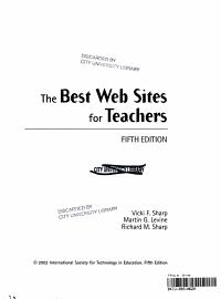 The Best Web Sites For Teachers
