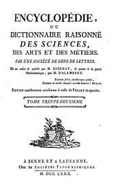 Encyclopédie, ou Dictionnaire raisonné des sciences, des arts et des métiers: Suc-Tek