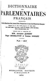 Dictionnaire des parlementaires français: Volume5