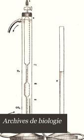 Arch biol (Liege): Volume 14