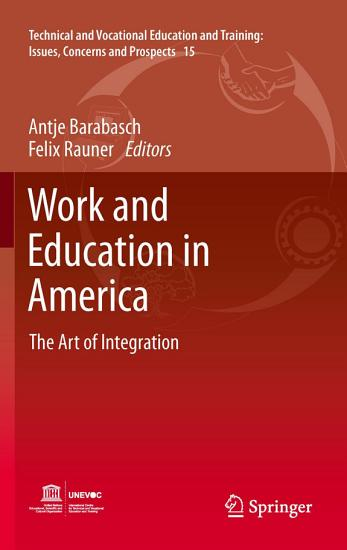 Work and Education in America PDF