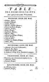 Vies des pères, des martyrs, et des autres principaux saints, tr. par l'abbé Godescard. Nouv. (2e) éd., revue & augmentée