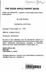 The Good Apple Puppet Book