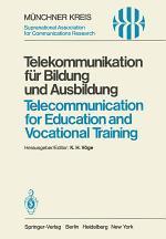 Telekommunikation für Bildung und Ausbildung / Telecommunication for Education and Vocational Training