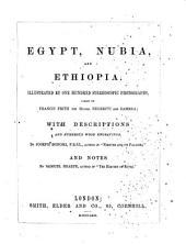 Egypt, Nubia, and Ethiopia