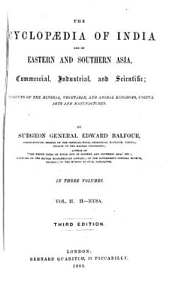 The Cyclop  dia of India and of Eastern and Southern Asia PDF