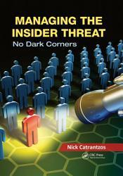 Managing The Insider Threat Book PDF