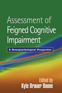 Assessment of Feigned Cognitive Impairment