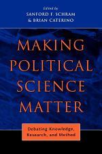 Making Political Science Matter