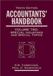 Accountants  Handbook  Special Industries and Special Topics PDF