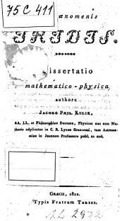 De phaenomenis Iridis. Dissertatio mathematico-physica