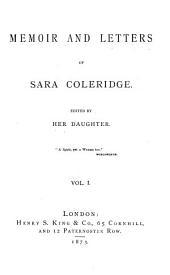 Memoir and Letters: Volume 1