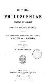 Historia philosophiae Graeco-Romanae, ex fontium locis contexta