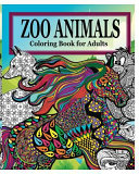 Zoo Animals Coloring Book for Adults