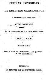 Poesias Escogidas De Nuestros Cancioneros Y Romanceros Antiguos: Contiene El Cancionero, Los Romances Moriscos Y Los Pastoriles, Volumen 2