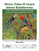 Download Draw  Color   Learn About Rainforests Book