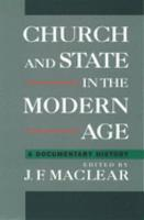Church and State in the Modern Age PDF
